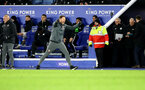 LEICESTER, ENGLAND - JANUARY 11: Ralph Hasenhuttl of Southampton celebrates at the final whistle during the Premier League match between Leicester City and Southampton FC at The King Power Stadium on January 11, 2020 in Leicester, United Kingdom. (Photo by Matt Watson/Southampton FC via Getty Images)