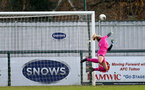 SOUTHAMPTON, ENGLAND - JANUARY 12: Kayla Rendell during the SRWFL at Snow's Stadium between Southampton Women and Chesham on January 12 2020, Totton, England. (Photo by Isabelle Field/Southampton FC via Getty Images)