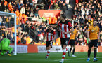 SOUTHAMPTON, ENGLAND - JANUARY 18: during the Premier League match between Southampton FC and Wolverhampton Wanderers  at St Marys Stadium on January 18, 2020 in Southampton, United Kingdom. (Photo by Isabelle Field/Southampton FC via Getty Images)
