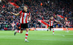 SOUTHAMPTON, ENGLAND - JANUARY 18: Jan Bednarek of Southampton celebrates after opening the scoring during the Premier League match between Southampton FC and Wolverhampton Wanderers at St Mary's Stadium on January 18, 2020 in Southampton, United Kingdom. (Photo by Matt Watson/Southampton FC via Getty Images)