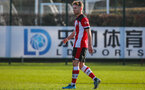 SOUTHAMPTON, ENGLAND - JANUARY 18: Callum Watts of Southampton FC during the Barclays Under 18 Premier League match between Southampton FC and Arsenal FC at the Staplewood Campus on January 18, 2020 in Southampton, England