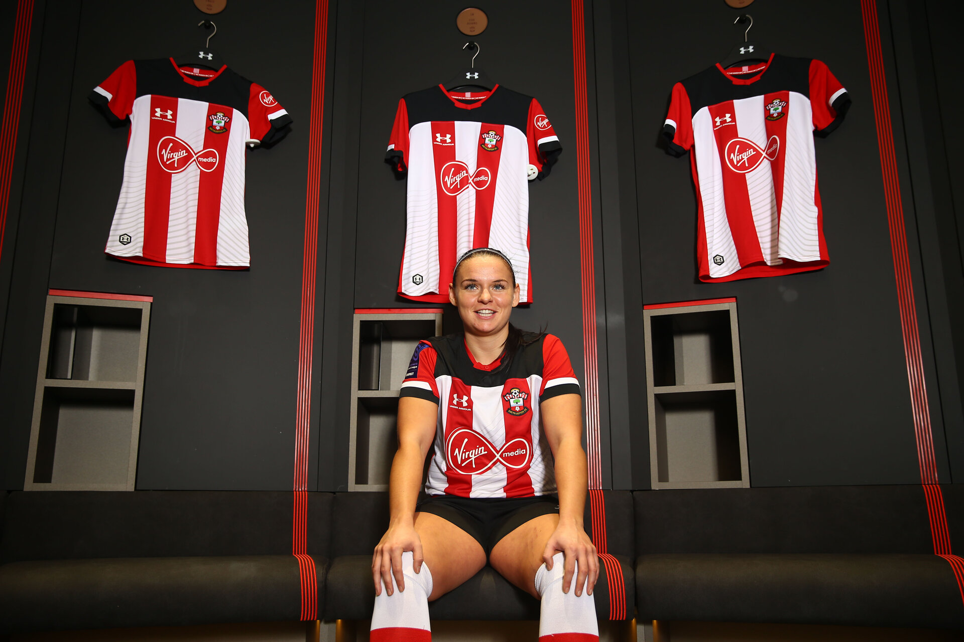 LONDON, ENGLAND - JANUARY 21: Shannon Siewright feature for Matchday program at St Mary's Stadium on January 21 2020 in Southampton, England (Photo by Isabelle Field/Southampton FC via Getty Images)