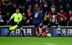SOUTHAMPTON, ENGLAND - JANUARY 25: Nathan Redmond(R) of Southampton during the FA Cup Fourth Round match between Southampton FC and Tottenham Hotspur at St. Mary's Stadium on January 25, 2020 in Southampton, England. (Photo by Matt Watson/Southampton FC via Getty Images)