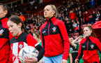 SOUTHAMPTON, ENGLAND - JANUARY 26: Kayla Rendell of Southampton Womens FC during the Women's FA Cup Fourth Round match between Southampton Womens FC and Coventry United Ladies at St Mary's Stadium on January 26, 2020 in Southampton, England