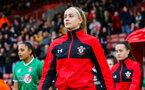 SOUTHAMPTON, ENGLAND - JANUARY 26: Caitlin Morris of Southampton Womens FC during the Women's FA Cup Fourth Round match between Southampton Womens FC and Coventry United Ladies at St Mary's Stadium on January 26, 2020 in Southampton, England