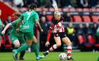 SOUTHAMPTON, ENGLAND - JANUARY 26: Phoebe Williams during the Women's FA Cup Fourth Round match between Southampton FC and Coventry United Ladies at St. Mary's Stadium on January 26, 2020 in Southampton, England. (Photo by Isabelle Field/Southampton FC via Getty Images)