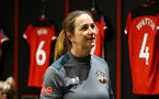 SOUTHAMPTON, ENGLAND - JANUARY 26: Marieanne Spacey-Cale during the Women's FA Cup Fourth Round match between Southampton FC and Coventry United Ladies at St. Mary's Stadium on January 26, 2020 in Southampton, England. (Photo by Isabelle Field/Southampton FC via Getty Images)