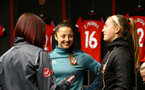 SOUTHAMPTON, ENGLAND - JANUARY 26: Kirsty Whitton during the Women's FA Cup Fourth Round match between Southampton FC and Coventry United Ladies at St. Mary's Stadium on January 26, 2020 in Southampton, England. (Photo by Isabelle Field/Southampton FC via Getty Images)