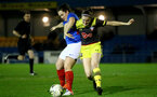 PORTSMOUTH, ENGLAND - FEBRUARY 05: Ella Pusey during the National League Cup quarter-final game between Portsmouth and Southampton Women at Privett Park Stadium on February 05, 2020 in Portsmouth, England. (Photo by Isabelle Field/Southampton FC via Getty Images)