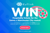 Win Man City hospitality tickets, thanks to Kuflink!