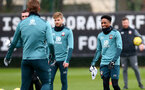 SOUTHAMPTON, ENGLAND - FEBRUARY 13: Kyle Walker-Peters during a Southampton FC training session at the Staplewood Complex on February 13, 2020 in Southampton, England. (Photo by Matt Watson/Southampton FC via Getty Images)