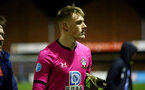 BLACKBURN, ENGLAND - November 27: Jack Bycroft of Southampton during PL2 match between Blackburn and Southampton at Lancashire County FA on February 14 2020, in Blackburn  (Photo by Isabelle Field/Southampton FC via Getty Images)