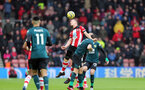 SOUTHAMPTON, ENGLAND - FEBRUARY 15: James Ward-Prowse during the Premier League match between Southampton FC and Burnley FC at St Mary's Stadium on February 8, 2020 in Southampton, United Kingdom. (Photo by Chris Moorhouse/Southampton FC via Getty Images)