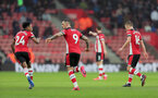 SOUTHAMPTON, ENGLAND - FEBRUARY 15: Danny Ings celebrates his goal during the Premier League match between Southampton FC and Burnley FC at St Mary's Stadium on February 8, 2020 in Southampton, United Kingdom. (Photo by Chris Moorhouse/Southampton FC via Getty Images)