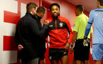 SOUTHAMPTON, ENGLAND - FEBRUARY 15: Kyle Walker-Peters of Southampton in the tunnel during the Premier League match between Southampton FC and Burnley FC at St Mary's Stadium on February 15, 2020 in Southampton, United Kingdom. (Photo by Matt Watson/Southampton FC via Getty Images)