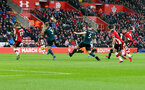 SOUTHAMPTON, ENGLAND - FEBRUARY 15: Danny Ings(R) of Southampton scores during the Premier League match between Southampton FC and Burnley FC at St Mary's Stadium on February 15, 2020 in Southampton, United Kingdom. (Photo by Matt Watson/Southampton FC via Getty Images)