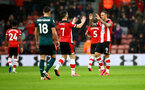 SOUTHAMPTON, ENGLAND - FEBRUARY 15: Shane Long(L) and Danny Ings of Southampton after Danny Ings scores during the Premier League match between Southampton FC and Burnley FC at St Mary's Stadium on February 15, 2020 in Southampton, United Kingdom. (Photo by Matt Watson/Southampton FC via Getty Images)