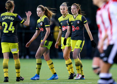 Women's Gallery: Exeter 0-6 Saints