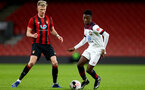 BOURNEMOUTH, ENGLAND - February 21: Kgaogelo Chauke during the PL2 match at The Vitality Stadium between Bournemouth and Southampton on February 21 2020, Bournemouth, England. (Photo by Isabelle Field/Southampton FC via Getty Images)