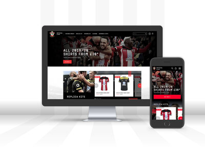 Saints launch new online store