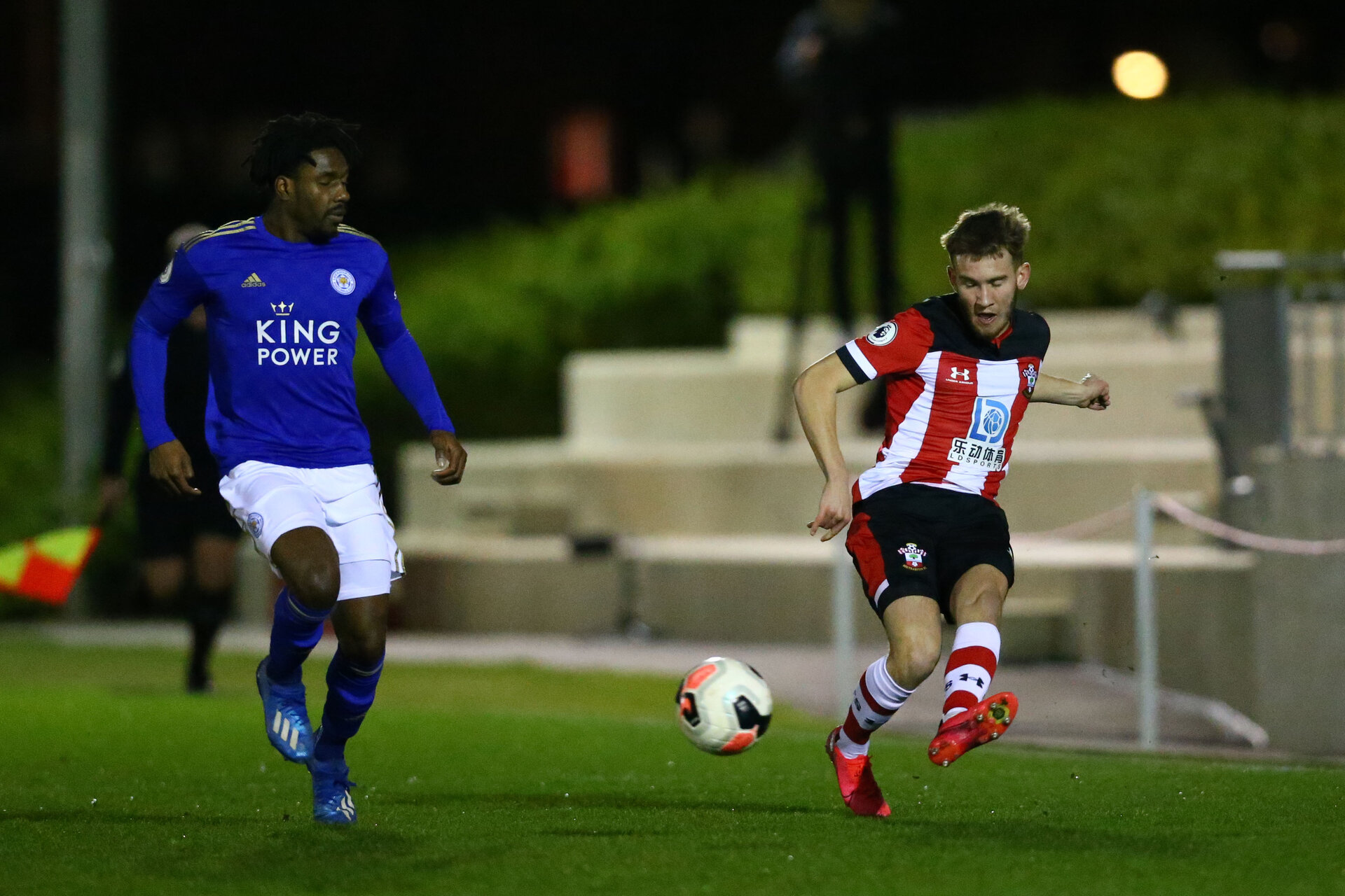 SOUTHAMPTON, ENGLAND - MARCH 02: during PL2 match between Southampton and Leicester City at Staplewood Training Center on March 02 2020 in Southampton England (Photo by Isabelle Field/Southampton FC via Getty Images)