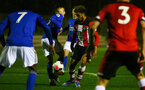 SOUTHAMPTON, ENGLAND - MARCH 02: Enzo Robise during PL2 match between Southampton and Leicester City at Staplewood Training Center on March 02 2020 in Southampton England (Photo by Isabelle Field/Southampton FC via Getty Images)