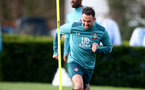 SOUTHAMPTON, ENGLAND - MARCH 03: Danny Ings during a Southampton FC training session at the Staplewood Campus on March 03, 2020 in Southampton, England. (Photo by Matt Watson/Southampton FC via Getty Images)