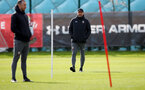SOUTHAMPTON, ENGLAND - MARCH 03: Ralph Hasenhuttl during a Southampton FC training session at the Staplewood Campus on March 03, 2020 in Southampton, England. (Photo by Matt Watson/Southampton FC via Getty Images)