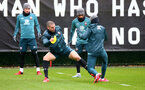 SOUTHAMPTON, ENGLAND - MARCH 05: Oriol Romeu makes a tackle during a Southampton FC training session at the Staplewood Campus on March 05, 2020 in Southampton, England. (Photo by Matt Watson/Southampton FC via Getty Images)