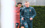 SOUTHAMPTON, ENGLAND - MARCH 05: James Ward-Prowse during a Southampton FC training session at the Staplewood Campus on March 05, 2020 in Southampton, England. (Photo by Matt Watson/Southampton FC via Getty Images)