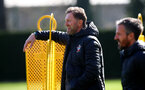SOUTHAMPTON, ENGLAND - MARCH 12: Ralph Hasenhuttl during a Southampton FC training session at the Staplewood Campus on March 12, 2020 in Southampton, England. (Photo by Matt Watson/Southampton FC via Getty Images)