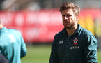 SOUTHAMPTON, ENGLAND - MARCH 12: Stuart Armstrong during a Southampton FC training session at the Staplewood Campus on March 12, 2020 in Southampton, England. (Photo by Matt Watson/Southampton FC via Getty Images)