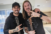 Saints duo support charity single