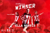 Ella Morris voted Player of the Season