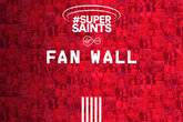 Super Saints Fan Wall unveiled tonight