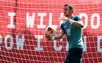 SOUTHAMPTON, ENGLAND - JUNE 16: Alex McCarthy during a Southampton FC training session at the Staplewood Campus on June 16, 2020 in Southampton, England. (Photo by Matt Watson/Southampton FC via Getty Images)