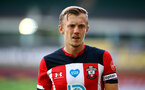 NORWICH, ENGLAND - JUNE 19: James Ward-Prowse during the Premier League match between Norwich City and Southampton FC at Carrow Road on June 19, 2020 in Norwich, United Kingdom. (Photo by Matt Watson/Southampton FC via Getty Images)