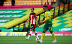 NORWICH, ENGLAND - JUNE 19: Will Smallbone during the Premier League match between Norwich City and Southampton FC at Carrow Road on June 19, 2020 in Norwich, United Kingdom. (Photo by Matt Watson/Southampton FC via Getty Images)