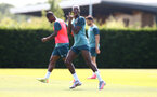 SOUTHAMPTON, ENGLAND - JUNE 23: Moussa Djenepo during a Southampton FC training session at the Staplewood Campus on June 23, 2020 in Southampton, England. (Photo by Matt Watson/Southampton FC via Getty Images)