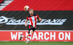 SOUTHAMPTON, ENGLAND - JUNE 25: Stuart Armstrong during the Premier League match between Southampton FC and Arsenal FC at St Mary's Stadium on March 21, 2020 in Southampton, United Kingdom. (Photo by Matt Watson/Southampton FC via Getty Images)