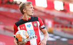 SOUTHAMPTON, ENGLAND - JUNE 25: James Ward-Prowse during the Premier League match between Southampton FC and Arsenal FC at St Mary's Stadium on March 21, 2020 in Southampton, United Kingdom. (Photo by Chris Moorhouse/Southampton FC via Getty Images)