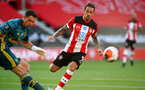 SOUTHAMPTON, ENGLAND - JUNE 25: Danny Ings during the Premier League match between Southampton FC and Arsenal FC at St Mary's Stadium on March 21, 2020 in Southampton, United Kingdom. (Photo by Matt Watson/Southampton FC via Getty Images)