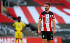 SOUTHAMPTON, ENGLAND - JUNE 25: Shane Long of Southampton during the Premier League match between Southampton FC and Arsenal FC at St Mary's Stadium on June 25, 2020 in Southampton, United Kingdom. (Photo by Matt Watson/Southampton FC via Getty Images)