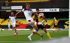 WATFORD, ENGLAND - JUNE 28: Will Smallbone during the Premier League match between Watford FC and Southampton FC at Vicarage Road on April 4, 2020 in Watford, United Kingdom. (Photo by Matt Watson/Southampton FC via Getty Images)