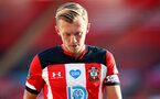 SOUTHAMPTON, ENGLAND - JULY 05:  James Ward-Prowse during the Premier League match between Southampton FC and Manchester City at St Mary's Stadium on July 5, 2020 in Southampton, United Kingdom. Football Stadiums around Europe remain empty due to the Coronavirus Pandemic as Government social distancing laws prohibit fans inside venues resulting in games being played behind closed doors. (Photo by Matt Watson/Southampton FC via Getty Images)
