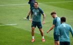 SOUTHAMPTON, ENGLAND - JULY 07: Danny Ings during a Southampton FC training session at the Staplewood Campus on July 07, 2020 in Southampton, England. (Photo by Matt Watson/Southampton FC via Getty Images)