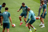 Gallery: Gearing up for Everton