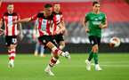 SOUTHAMPTON, ENGLAND - JULY 16: Will Smallbone of southampton during the Premier League match between Southampton FC and Brighton & Hove Albion at St Mary's Stadium on July 16, 2020 in Southampton, United Kingdom. Football Stadiums around Europe remain empty due to the Coronavirus Pandemic as Government social distancing laws prohibit fans inside venues resulting in all fixtures being played behind closed doors. (Photo by Matt Watson/Southampton FC via Getty Images)