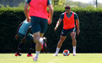 SOUTHAMPTON, ENGLAND - JULY 22: Ché Adams during a Southampton FC training session at the Staplewood Campus on July 22, 2020 in Southampton, England. (Photo by Matt Watson/Southampton FC via Getty Images)
