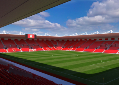 St Mary's 3D seat view now available